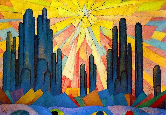 Joseph Anton Schneiderfranken (1876 - 1943) Lux in Tenebris