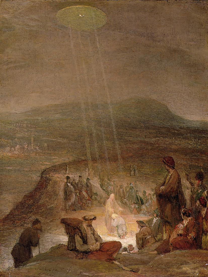 De Gelder, Aert (1645 - 1727)- Baptism of Christ (1710)