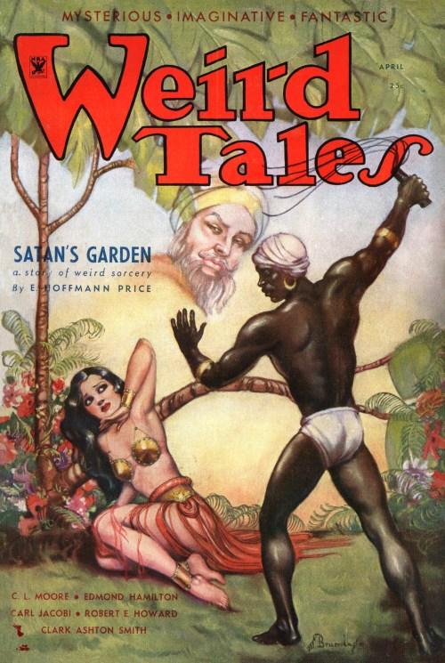 Weird Tales April 1934