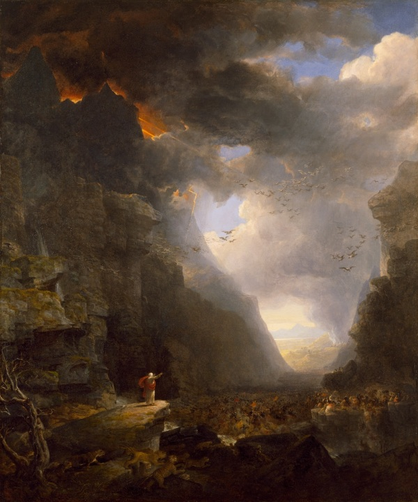Asher Durand (1796 - 1886) - God's Judgment on Gog (1852)