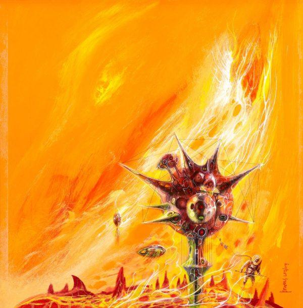 Powers, Richard M. (1921 - 1996) - Mountains Of The Sun (1974)
