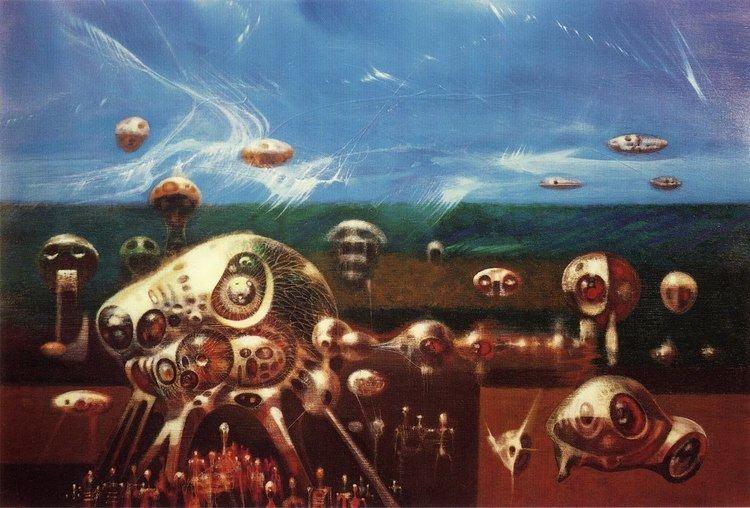 Bird 15 Powers, Richard M. (1921 - 1996) - Abstract (ca. 1960)
