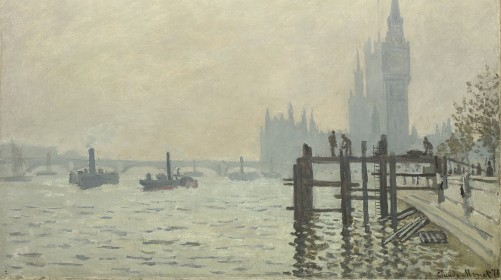 RVW 01 Claude Monet, The Thames below Westminster, about 1871