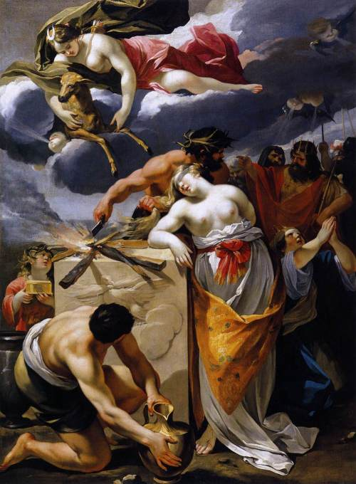 Sacer 08 Francois Perrier (1590 - 1650) Iphigenia (1633)