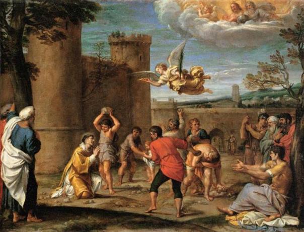 Sacer 10 St. Stephen (1604) Annibale Carracci (1550 - 1609)